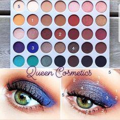 👸 Jaclyn Hill Morphe Palette 🎀 Kolore super te pigmentuara Ja nke look qe mund te realizoni me keto kolore te mrekullueshme ❤ #jaclynhill…