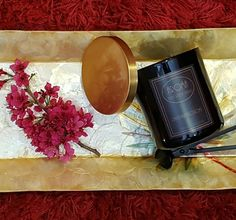 Champaka Blossoms Scented Candle
