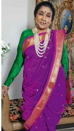 Asha Bhosle. Asha Bhosle, Lata Mangeshkar, Rare Pictures, India Beauty, Vintage Photography, Sari, Celebs, Indian, Bollywood Celebrities