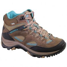 Sportsman's Guide has your Women's Merrell Salida Mid Waterproof Hiking Boots available at a great price in our Hiking Boots & Shoes collection Hiking Boots Women, Hiking Shoes, Trekking Outfit, Waterproof Hiking Boots, Walking Boots, Hiking Gear, Hiking Tips, Camping Gear, Outdoor Outfit