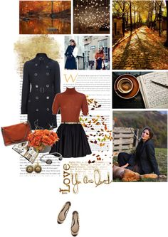 """""""Bundle up, buttercup!"""" by tresorsdeluxe ❤ liked on Polyvore"""