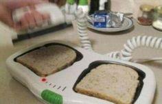 Toast du matin à la Gregory House !
