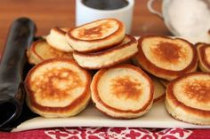 Fantastic pancakes - They come out fat and fluffy, soft and golden, and so so tasty.I suggest doubling the recipe because these will be devoured in no time. Different Types Of Cakes, Best Pancake Recipe, Good Morning Breakfast, Delicious Desserts, Yummy Food, Tasty Videos, How To Double A Recipe, Cookie Desserts, Deserts