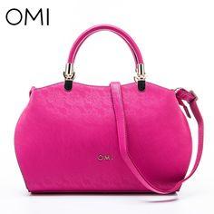 102.25$  Watch now - http://alie2a.shopchina.info/1/go.php?t=32811524623 - OMI Women's handbags Women's bag Female's genuine leather handbag famous designer brand bags luxury designer shoulder bags Tote  #SHOPPING