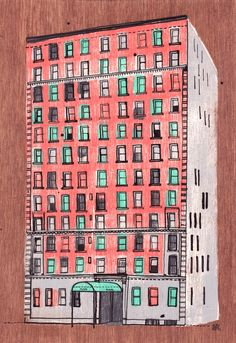 one of the all the builidings in NY series