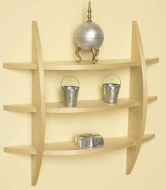 Quick To Make Contemporary Wall Shelf Easy Woodworking ProjectsWoodworking
