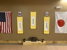 New Shoman Wall display at the Dojo at the McAdoo Martial Arts Academy! Karate Dojo, Art Academy, Martial Arts, Display, Wall, Home Decor, Floor Space, Decoration Home, Billboard