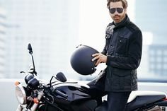 quilted/utility/mix media outerwear   He By Mango Autumn 2014 Men's Lookbook | FashionBeans.com