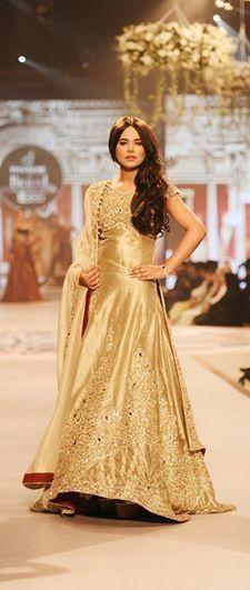 Style 360 pantene bridal couture week 2014 karachi.