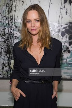 Fashion designer Stella McCartney poses for a photo during a personal appearance at Nordstrom Downtown Seattle on November 3, 2016 in Seattle, Washington.