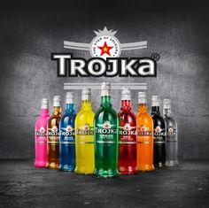 TROJKA Vodka Vodka Bottle, Beautiful Pictures, Delivery, Cocktails, Lugano, Bar, Drink, Christmas, Food