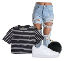 """""""New Style . ( I Tried ) """" by pizzarollz ❤ liked on Polyvore featuring Ralph Lauren and NIKE"""