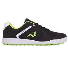 Woodworm Surge V2 Golf Shoe- Black/Neon Size 8