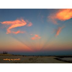 """Photo of the Week 20131028 """"Clouds at Vanishing Point"""". Taken September 8, 2013 at Second Beach, Point Lookout, NY with iphone 5.  Hi resolution version can be found at : http://makingmypoint.wordpress.com/2013/10/28/photo-of-the-week-20131028/"""