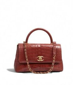 Handbags of the Fall-Winter CHANEL Fashion collection   Flap Bag With Top  Handle e65aec0a57d