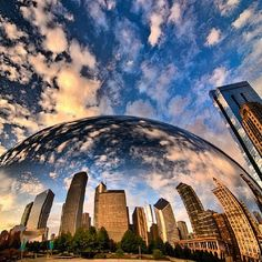 """I have such fond memories of the Bean at Millenium Park in Chicago.   Photo by """"mrcbooz"""" via instagram"""