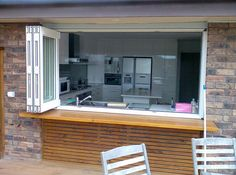 how awesome!!! just open some windows and your kitchen becomes ...