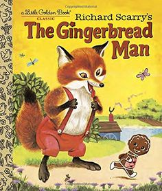 Richard Scarry's The Gingerbread Man (Little Golden Book) by Nancy Nolte http://www.amazon.com/dp/0385376197/ref=cm_sw_r_pi_dp_X12pwb0KS726S