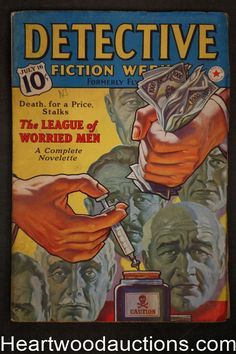 Detective Fiction Weekly Jul 16, 1938 pulp Hypodermic needle