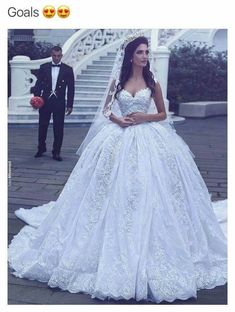 Cheap robe de mariage, Buy Quality gown wedding directly from China vestidos de novia Suppliers: Vestidos De Novia Custom Made Off the Shoulder Ball Gown Wedding Dresses Plus Size Lace Cheap Wedding Gowns 2017 Robe de mariage Dream Wedding Dresses, Bridal Dresses, Beaded Dresses, Ball Gown Wedding Dresses, Princess Wedding Gowns, Dress For Wedding, Lebanese Wedding Dress, Weeding Dress, Tulle Ball Gown