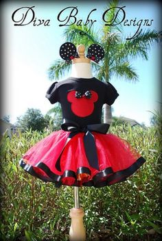 When I take my family to Disney World one day... my little girl will wear this. :)