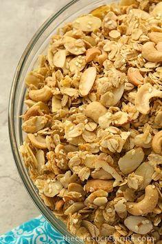 Cashew Granola (The Best)