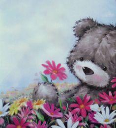 Florynda del Sol ღ☀¨✿ ¸.ღ Anche gli Orsetti hanno un'anima…♥ Teddy Bear Images, Teddy Bear Pictures, My Teddy Bear, Cute Teddy Bears, Tatty Teddy, Cute Images, Cute Pictures, Bear Graphic, Dibujos Cute