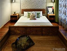 Classical Chinese bedroom design and decoration 2015