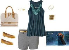 """Merida Inspired Style"" by gigi-gina-grant on Polyvore"