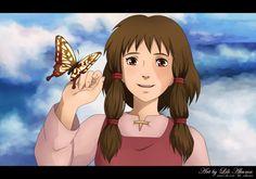 Gedo Senki - Tales from Earthsea by lunxari on DeviantArt A Wizard Of Earthsea, Tales From Earthsea, Studio Ghibli Art, Studio Ghibli Movies, Secret World Of Arrietty, Fantasy Films, Anime Wallpaper Live, Hayao Miyazaki, Anime Artwork