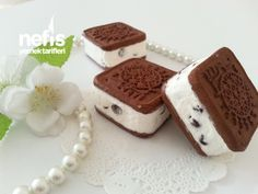 Sandviç Parfe Cookie Pie, Tiramisu, Cake Recipes, Food And Drink, Easy Meals, Sweets, Cookies, Baking, Ethnic Recipes