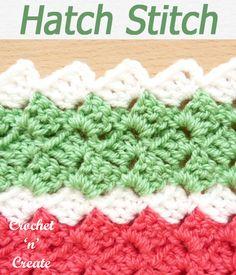 Crochet Stitches - Free Crochet Tutorials-Pictorials on Crochet 'n' Create Different Crochet Stitches, Crochet Stitches Free, Crochet Stitches For Beginners, Afghan Crochet Patterns, Free Crochet, Knitting Patterns, Crochet Books, Crochet Crafts, Crochet Projects