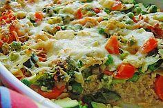 Quinoa - Gemüse - Auflauf, ein sehr schönes Rezept aus der Kategorie Gemüse. Bewertungen: 107. Durchschnitt: Ø 4,2.