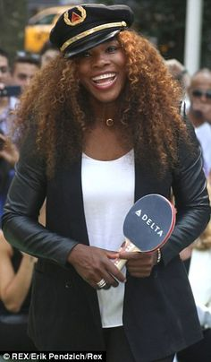 World #1 Serena Williams appeared at an event sponsored by Delta Airlines. The 16X Slam Champion Serena Williams' excitement showed, laughing & clapping as she put on a table tennis top performance. The star even took some time to sign autographs, as a plethora of fans watched from the sidelines. Other celebrity athlete participants at the Delta Open included Brett Gardner, Iman Shumpert, and Henry Lundqvist. 8/2013