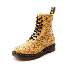 3fe839ed5e4f Womens Dr. Martens 8-Eye Flower Boot.  129.99 available at  journeys