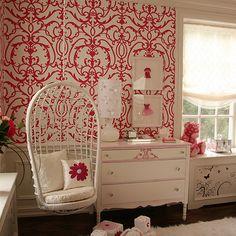 Nursery Wallpaper - Traditional - nursery - Patricia Halpin Interiors