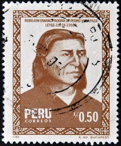 Peru Stamp 1985 - Pedro Vilcapaza