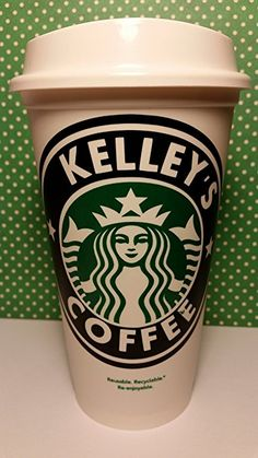 Personalized Starbucks Coffee Cup (PERSONALIZE WITH ANY NAME) by Piece of Cake Parties. Personalized gifts for her. Personalized gifts for your girlfriend. Personalized gift ideas.  Personalised gifts. Affiliate Link
