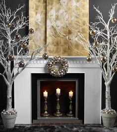 Shiver & Gold Christmas Decor