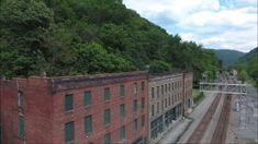 Established in 1900, Thurmond, West Virginia was once a major stop along the Chesapeake & Ohio Railroad line. The tracks have remained, and the train still passes through, except now, no one waits at the station to board.