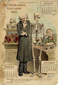 Antikamnia calendar 1901 by mkezzler, via Flickr