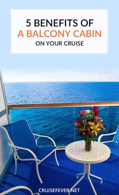 Balcony staterooms cost more, and you might be tempted to just get an ocean view, but here are some things to consider before you make that decision for your next cruise.