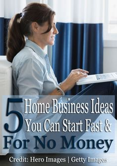 No money? No problem. Here are 5 home business ideas you can start quickly with…