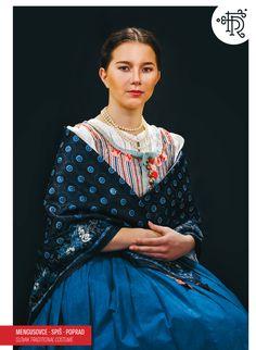 Mengušovce, Spiš, Slovakia Folk Clothing, Photography Exhibition, Tribal Dress, Folk Embroidery, Wedding Costumes, Folk Costume, Festival Wear, White Fashion, Traditional Dresses