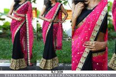 SFH Bollywood Designer Sari Lehenga Party Wear Saree Festival Wedding KT-3138…