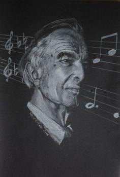 White pencil-black paper-Dave Brubeck