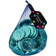Robin's Egg Blue Chocolate Coins are the sweetest currency around! These Robin's Egg Blue Chocolate Coins are wrapped in teal foil and look like half dollars. Chocolate Coins, Blue Chocolate, Blue Candy Buffet, Candy Buffet Supplies, Sofia The First Birthday Party, Candy Display, Packing A Cooler, Baby Doll Accessories, Holiday Candy