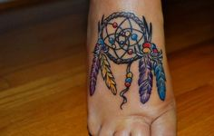 Dream Catcher Tattoos For Girls