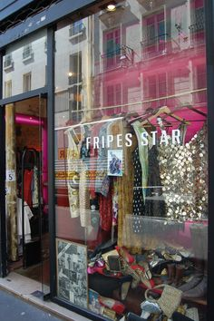 Fripes Star in Paris...most amazing vintage store.