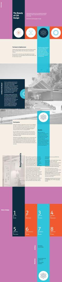 Unique Web Design, CSS Zen Garden via @willypillard #WebDesign #Design #CSS